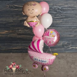 mix folga balloon a baby girl mix folga balloon a baby girl