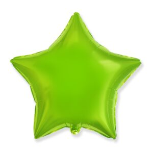 helium foilj star green lime 300x300 helium foilj star green lime